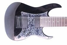Black Pearloid Pickguard fits Ibanez (tm) RG8 8 String Guitar RG