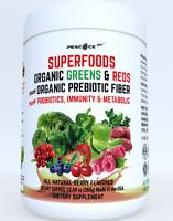 Superfood Miracle Berry Super Reds Greens Powder Prebiotic Probiotic Immune