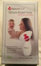 New Sealed Nature Bond Silicone Breast Pump.