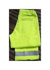 """Alsico Farlane Protection Flame Retardant Hi-Vis Trousers With Knee Pockets W50"""""""