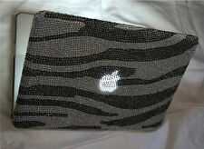 Strass Bling Diamante MACBOOK AIR 11,6, 11 pollici cover 2010 -2014 ZEBRA