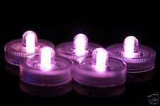 100 PURPLE SUBMERSIBLE LED LIGHTS WEDDING TABLE CENTREPIECES FLORAL ARRANGEMENTS