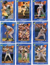1991 CLASSIC BLUE SET KEN GRIFFEY JR, RYAN, BOGGS BONDS