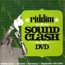 RIDDIM DVD Soundclash Munich 2003 Downbeat Sentinel Dancehall Roots Culture