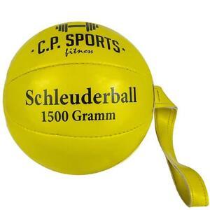 Schleuderball 1500g Kunstleder Sportabzeichen Schulsport Werfen Schleudern Gym