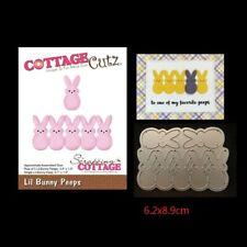Easter rabbits Metal Cutting Dies Stencil Scrapbooking DIY Album Paper Card