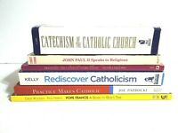 Lot Of 6 Catholic Study Books Paperback