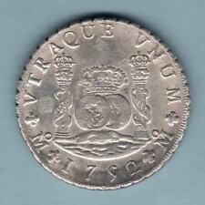 Mexico. 1752-MF 8 Reales - Pillar Dollar..  EF - Part Lustre