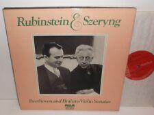 SER 5701/02/03 Beethoven And Brahms Violin Sonatas Rubinstein & Szeryng 3LP Box