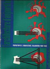 L'ARCHITECTURE D'AUJOURD'HUI_RIVISTA BIMESTRALE_FEBBRAIO-MARZO 1960_ARCHITETTURA