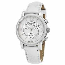 Tissot Women's Dress Port White Leather Swiss Quartz Watch T0502171711700