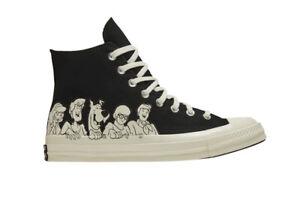 Converse CHUCK 70 HI x SCOOBY DOO Black/Egret/Black 169082C