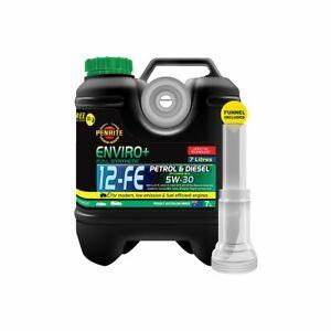 Penrite Enviro+ 12-FE Synthetic Engine Oil 5W-30 7L EPLUS12FE007