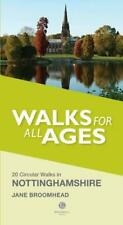 Walks for All Ages in Nottinghamshire by Broomhead, Jane | Paperback Book | 9781