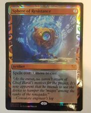 1x Sphere of Resistance foil Kaladesh Masterpiece Invention MTG Magic played x1