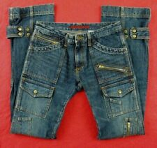EDGE ON ALL made in Japan 12 pockets Blue Jeans 29x32 size 1