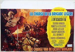 The Charge of the Light Brigade 1968  David Hemmings Original Belgian Poster