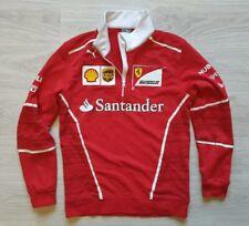 Jacket Ferrari Scuderia Puma Santander Hublot 1/4 Zip Red Racing UPS Long Sleeve