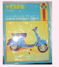 MAN126 Haynes Manual Handbuch VESPA Scooters all rotary valve models 1959 - 1978