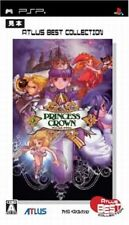 USED PSP  princess crown atlus sony playstation