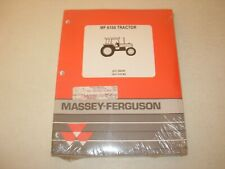 Massey Ferguson MF 6150 Tractor Parts Manual , issued 1995