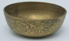 Vintage British Raj era / British India Small Decorative Brass Bowl