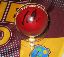 Courtney Walsh (West Indies legend) signed Slazenger Cricket Ball + COA / proof