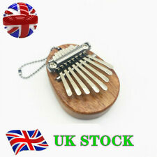 More details for mini kalimba 8 keys thumb piano great sound finger keyboard musical instrume toy