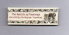Dollshouse Miniature Book - Battle of Hatings/Bayeux Tapestry