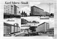AK, Karl-Marx-Stadt, fünf Abb., 1967