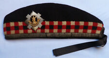 ORIGNIAL WW2 BRITISH ARMY ROYAL SCOTS SOLDIER'S GLENGARRY CAP