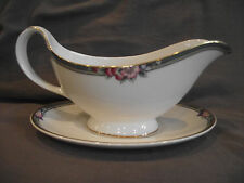 Royal Doulton Orchard Hill Gravy Boat and Underplate