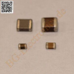 10 x 1µF 1uF 10V  Kondensator Capacitor GRM188R61A105KA61 Murata 0603SMD 10pcs