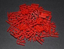 lot of 50 red K'Nex 3 position connectors   - combined shipping