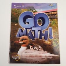 Go Math!: Student Edition Chapter 10 - Grade 2. Pub. 2015 - New