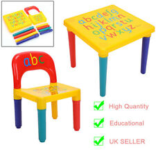 Style Childrens Table and Chair set - Kids Toddlers Childs - Educational Toy