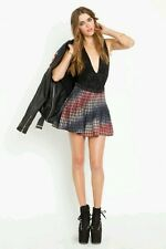 Dolls Kill Style Stalker Courtney Love Skirt - Tye Dye Dip Dye Grunge School Gir