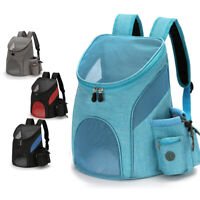 KQ_ Pet Portable Carrier Backpack Travel Dog Cat Puppy Bag Comfort Mesh Carry Pa