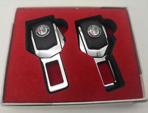 Seat Belt Control Buckle Clasp Insert Plug Eliminate Stop Alarm Fit Alfa Romeo