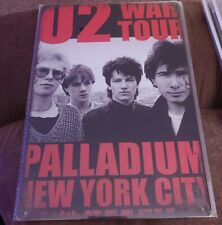 U2 Rock Band Poster Style Wall Sign New