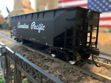 HO Scale Atlas Trainman 2 Bay Offset Side CP Canadian Pacific w/coal load NEW !