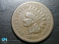 1865 Indian Head Cent Penny  --  MAKE US AN OFFER!  #B8255