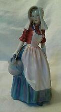 Vintage Royal Doulton Bone China Jersey Milkmaid Figurine