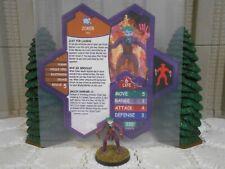 Heroscape Custom Joker Double Sided Card & Figure w Sleeve DC Batman