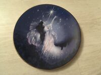 ROYAL WORCESTER BONE CHINA COLLECTOR PLATE DIAMOND FAIRY COMPTON & WOODHOUSE