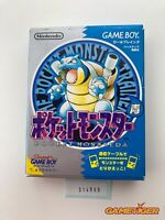 POCKET MONSTER Blue Pokemon Nintendo Gameboy JAPAN Ref:314900