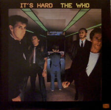 "THE WHO ""IT'S HARD"" 12"" 33RPM vinyl album 1982 WARNER Rock"
