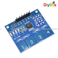 TTP224 4-Channel Digital Touch Sensor Module Capacitive Touch Switch Button