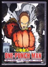 NEW* ONE PUNCH MAN COMPLETE *12 EPS/6 SPEC/OVA*ENGLISH AUDIO*ANIME DVD*US SELLER