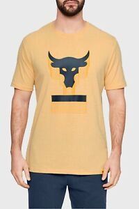 Under Armour Mens Project Rock Above The Bar Short Sleeve T-Shirt XL 1345811-773